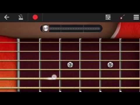Sadda Haq Rock Guitar Intro Lesson on Walkband Android App Rockstar Electric Guitar
