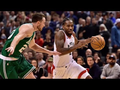 Kawhi Leonard Full Game Highlights Raptors vs Celtics (31 Pts, 10 Rebs) 10-19-2018