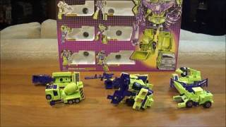 G1 Transformers Review: Devastator Transformer