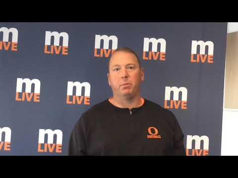 Coach Charlie Gunsell talks about football season at Ludington