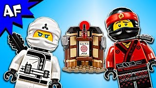 Lego Ninjago Movie: SPINJITZU TRAINING 70606 Animation & Speed Build