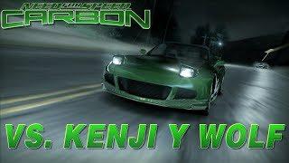NFS Carbon | Venciendo a KENJI y WOLF | Stream: Mejores Momentos
