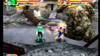 Power Rangers Wii (dos jugadores) Misión 6 power rangers samurai español