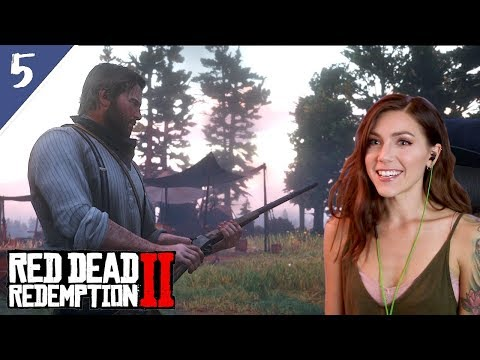 Bear Hunting & Horse Picking With Hosea | Red Dead Redemption Pt. 5 | Marz Plays