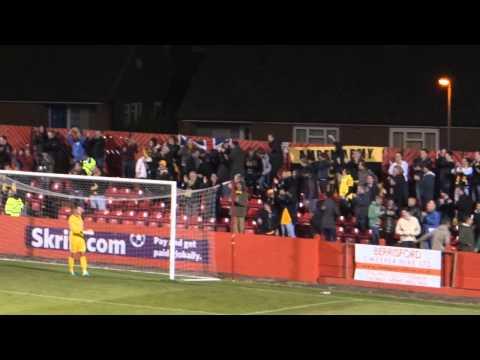 GOAL! - Ryan Donaldson finds the net against Alfreton Town