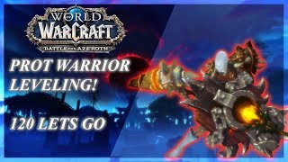 BFA PROT Warrior GUIDE for Mythic Plus and WoW Raids (Patch