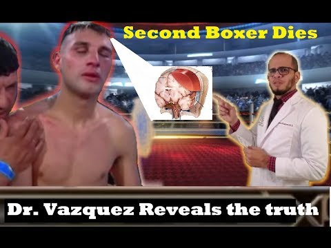 Dr. Vazquez Breaks Down Second Death Of A Boxer This Week From Traumatic Brain Injury