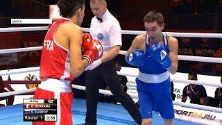 Якутский боксер Василий Егоров проиграл и выбыл с чемпионата мира