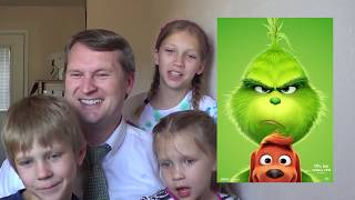 SawItTwice - The Grinch - Official Trailer #2 Live Reaction