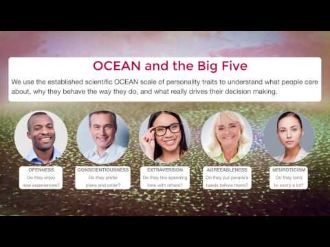 The Ocean Knows: Psychometrics in the 21st Century