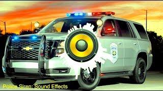 Police Siren Sound Effects (Surround Sound Effect)