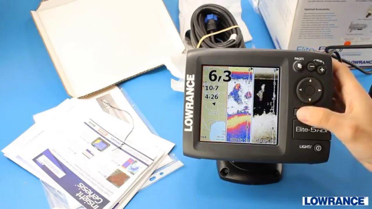 Lowrance HDS-9 Gen3. Как выглядит рыба - YouTube