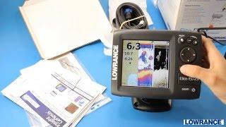 Видео обзор эхолота картплоттера Lowrance Elite 5 HDI