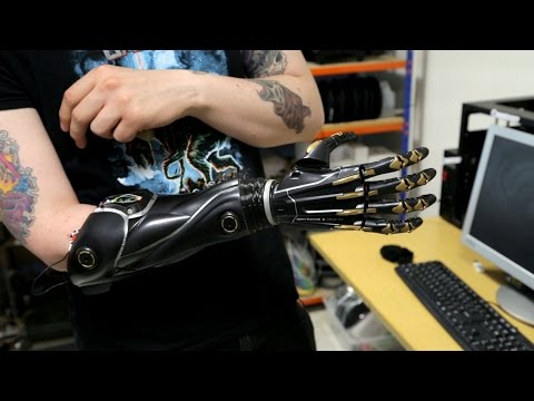 3D printing yourself a hand: Deus Ex's bionic limbs are being made for real by Open Bionics