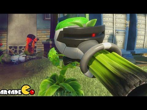 Plants Vs. Zombies: Garden Warfare - Agent Pea Shooter Funny Montage ...