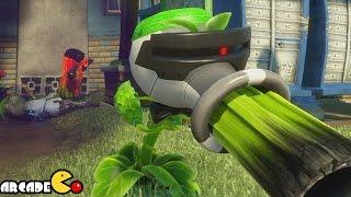 Plants Vs. Zombies: Garden Warfare - Agent Pea Shooter Funny Montage