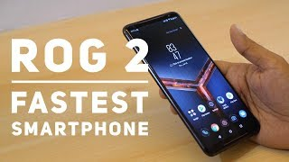 Asus ROG Phone 2 Hands On - 120 Hz AMOLED Display & 6000 mAh