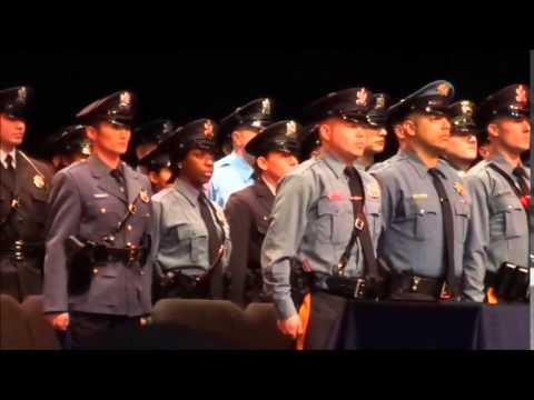 Mercer County police academy class graduation 12-14