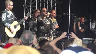 Mariachi El Bronx - 48 Roses - Live at Bonnaroo 2012, That Tent, Manchester, TN-6/7/12