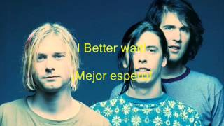 Nirvana -  Territorial Pissings (Meadas Territoriales) -  Lyric  - Sub Esp