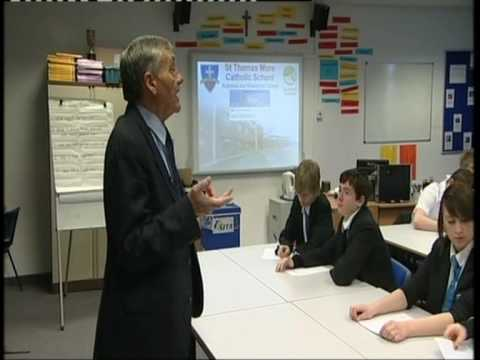 Business Guru Tom Edge visits St Thomas More Business College