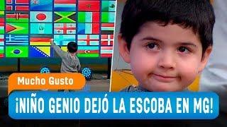 Niño genio dejó la escoba en el matinal - Mucho Gusto 2018