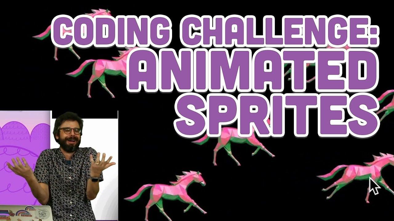 Coding Challenge #111: Animated Sprites