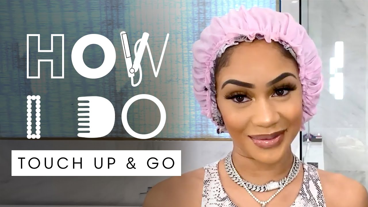 Saweetie's Quick & Easy Hair Tutorial for Second Day Hair | How I Do | Harper's BAZAAR