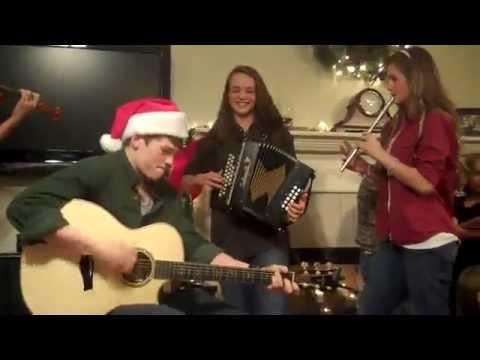 Willis Family... Irish Song & Dance. christmas 2009