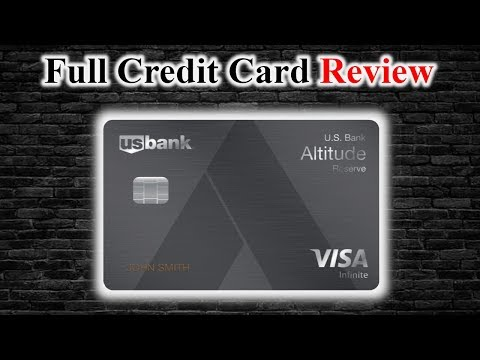 Credit Card Review | US Bank Altitude Reserve Card