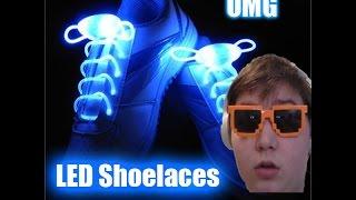LED Shoelaces Shoe Laces Flash Light Up