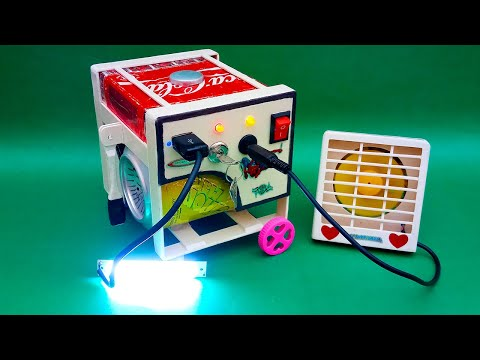 How To Make A Electric Generator Model | Generator Model Science Project | Mini Generator |Generator