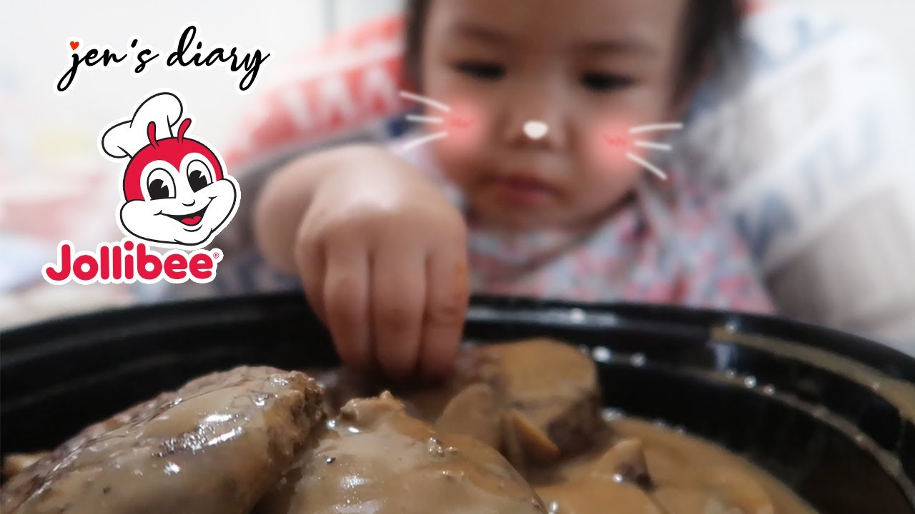 Baby Zoe's First Time To Try Jollibee