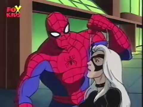 Spiderman the Animated Series THE BLACK CAT - YouTube
