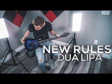 New Rules - Dua Lipa - Cole Rolland (Guitar Cover)
