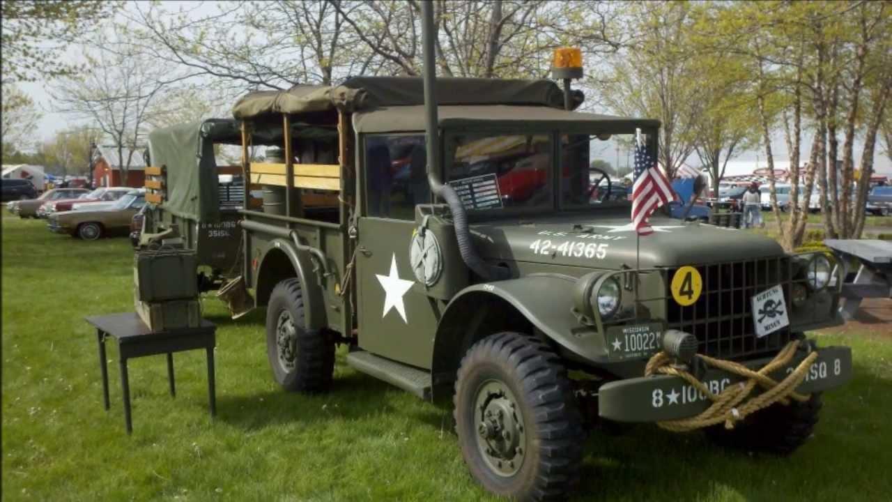 1953 Dodge M37 at various Car shows and Parades