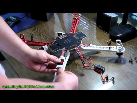 DJI F450 Quadcopter Assembly