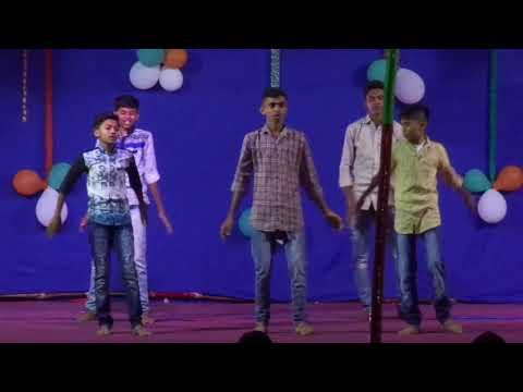One and only yeshu naam(Singer Emmanuel Gollar) Dance video in Khurdi Christmas 2017