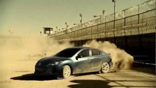 WAS THIS MAZDA CAR COMMERCIAL FILMED INSIDE A CONCENTRATION CAMP ? FEMA ?