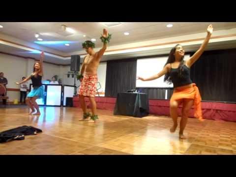Tasha, John, & Meghan's Hula Routine: