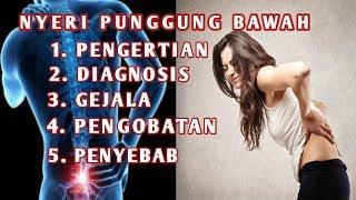 Penyebab Sakit Punggung Dan Cara Mengatasinya.