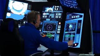 CST-100 Starliner Trainers: Astronauts 'Fly' Boeing Spacecraft