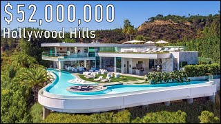 Inside a $52 Million Beverly Hills Mansion! - Robin Drive