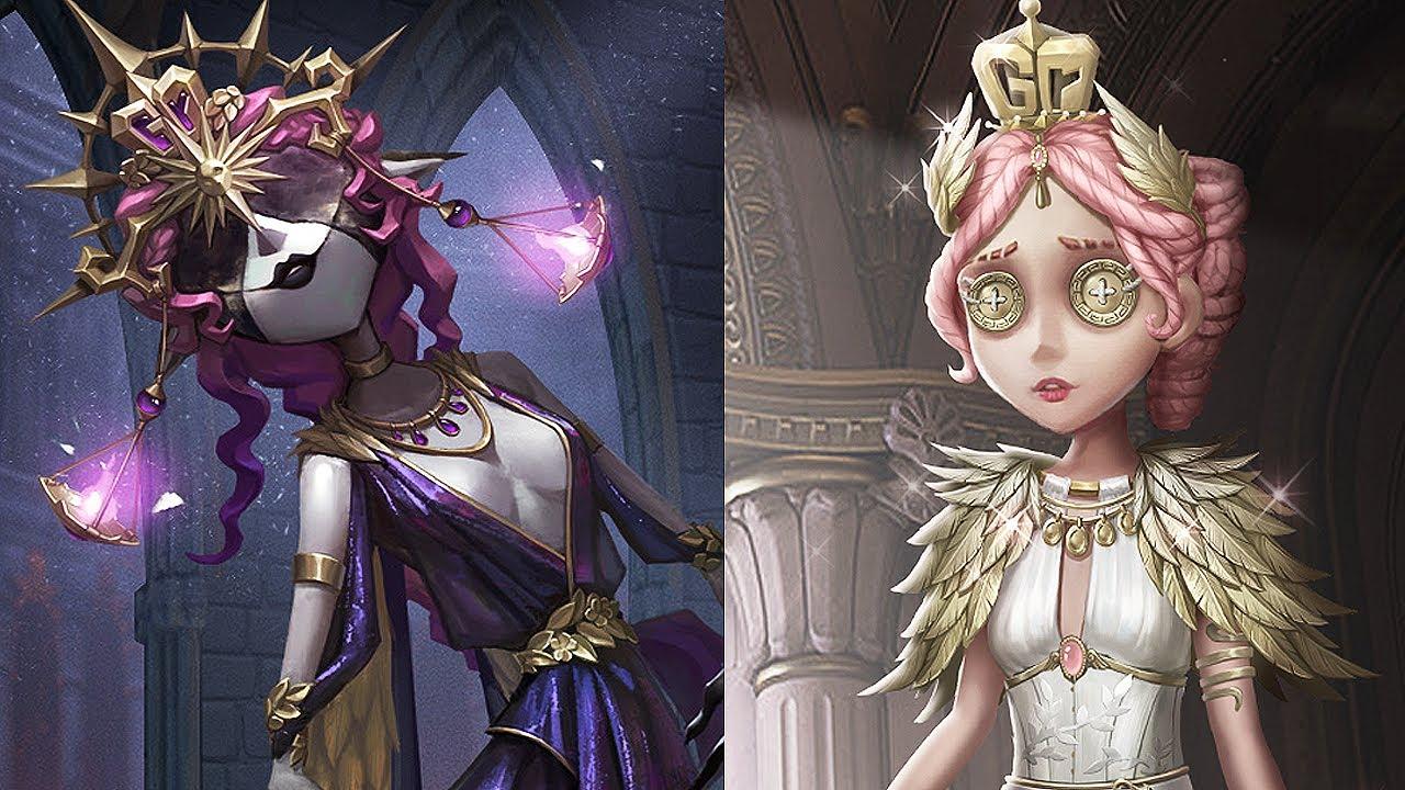 Gr team (COA III champions) costumes / Dream Witch (A), Coordinator (A) / Design / Identity V