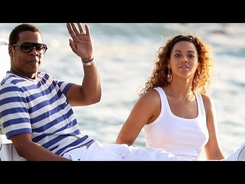 BEYONCE BABY: Singer And Jay-Z's New Baby Blue Ivy Carter:  ENTV
