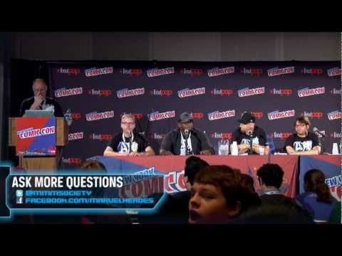 Marvel Heroes: New York Comic-Con 2012 panel