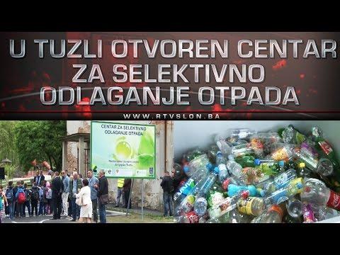 U Tuzli otvoren Centar za selektivno odlaganje otpada - 27.04.2017.