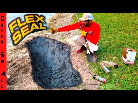 Will FLEX SEAL Pond HOLD FISH?