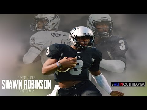 Shawn Robinson: THE BEST Dual Threat QB In 2017 : (2015 Junior Football Highlights)
