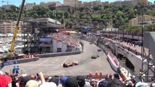 2011年 F1モナコGP 迫力のスタートシーン!!! 2011 F1 Monaco GP Start!!!